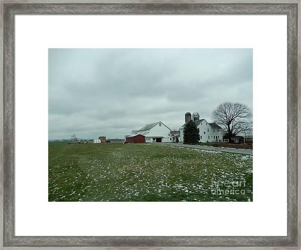 Winter Letting Go Framed Print