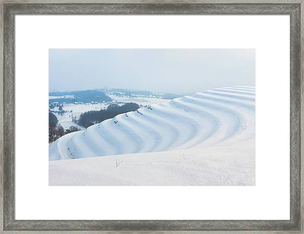 Winter Lines Framed Print