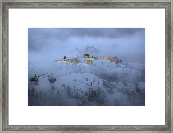 Winter Mirage Framed Print