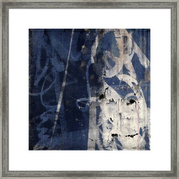 Winter Nights Series Two Of Six Framed Print