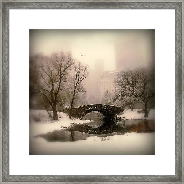 Winter Nostalgia Framed Print