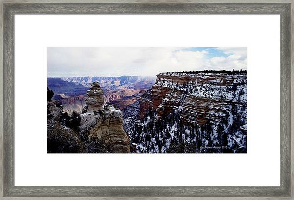 Winter Panorama Framed Print