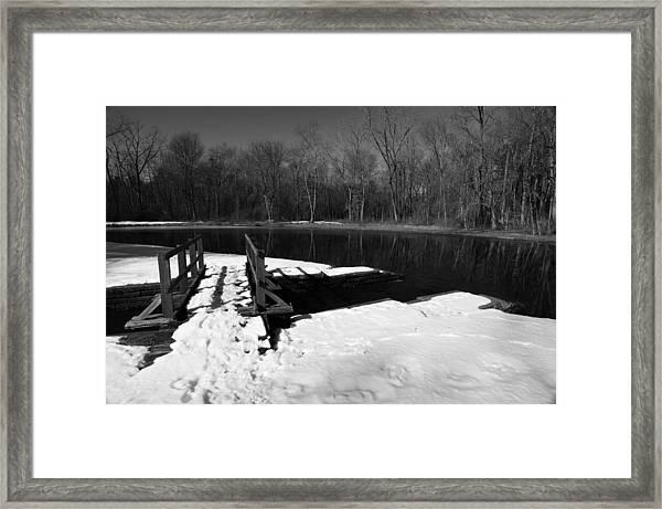 Winter Park 2 Framed Print