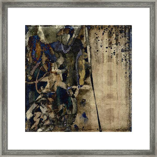 Winter Rains Series Five Of Six Framed Print