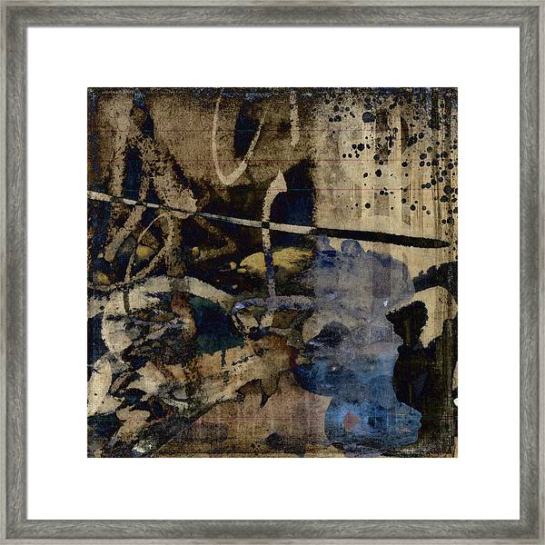 Winter Rains Series Two Of Six Framed Print