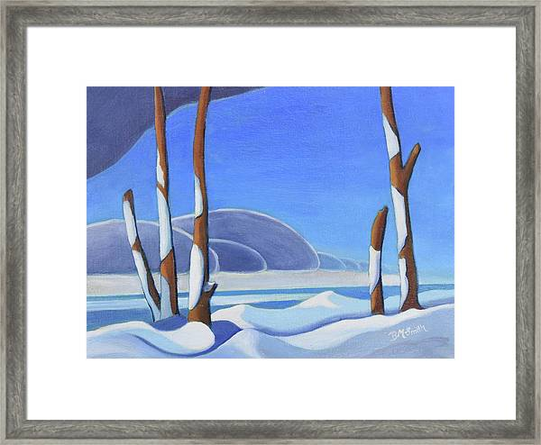 Winter Solace II Framed Print