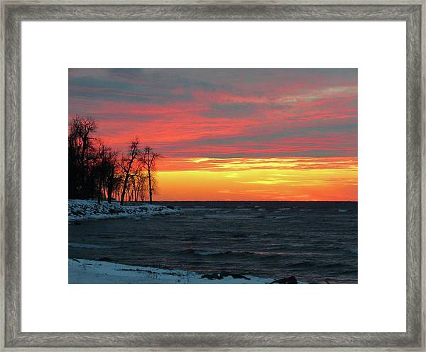 Winter Solstice Eve Framed Print