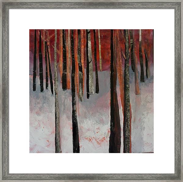 Winter Trees 1 Framed Print