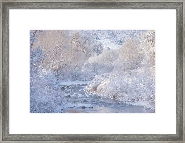 Winter Wonderland - Colorado Framed Print