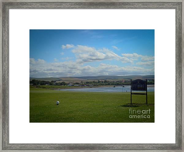 Winterfield Golf Club Framed Print by Yvonne Johnstone