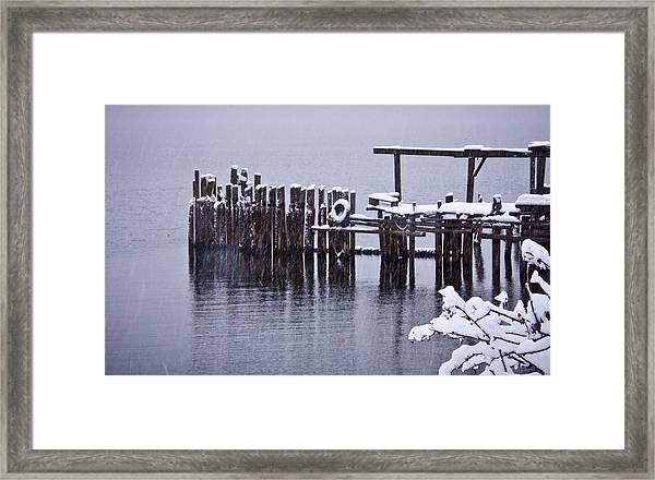 Winterized Framed Print