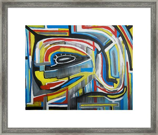 Wired Dreams  Framed Print
