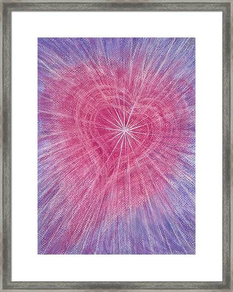 Wisdom Of The Heart Framed Print
