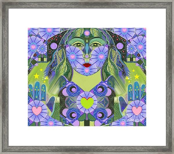 Wisdom Rising Framed Print