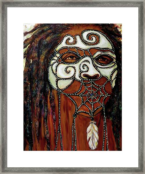 Speak No Evil Framed Print