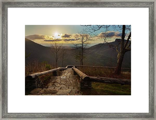 Wisemans View Framed Print