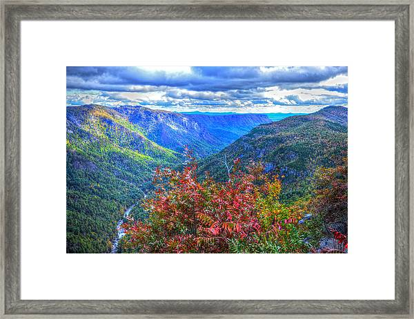 Wiseman's View Framed Print