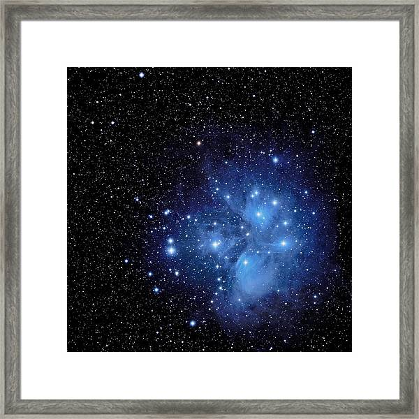 Wisps Of Merope Framed Print