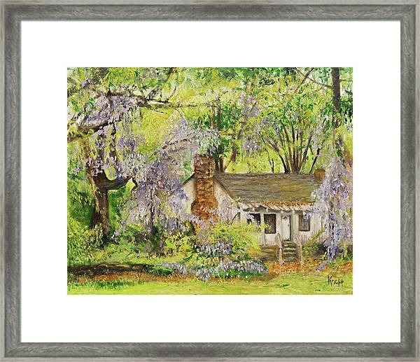 Wisteria House Two Framed Print