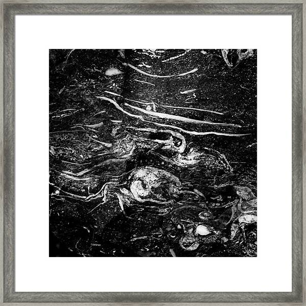 Within A Stone Framed Print