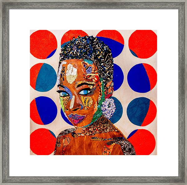 Without Question - Danai Gurira I Framed Print