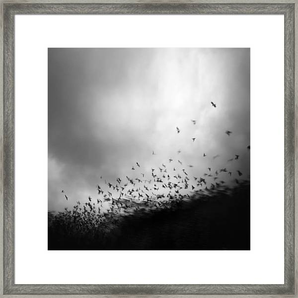Without You, My Whole World Comes Apart At The Seams Framed Print