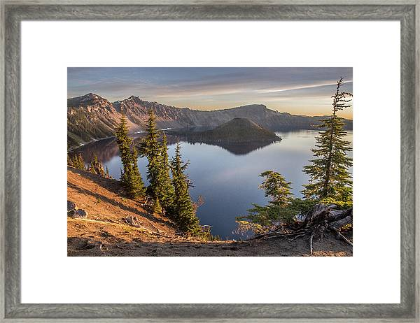 Wizard Island Beauty Framed Print