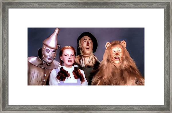 Wizard Of Oz Framed Print