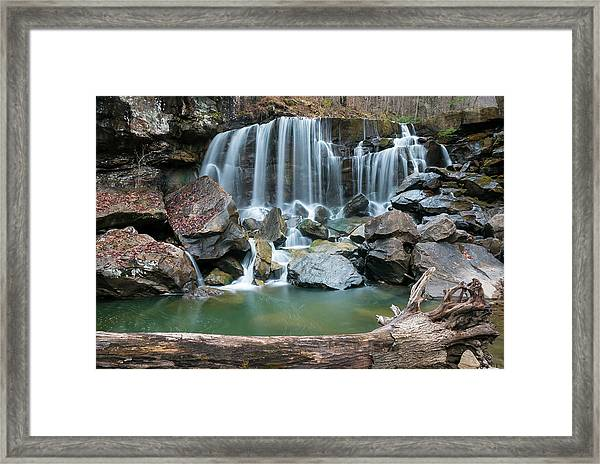 Wolf Creek Falls Framed Print