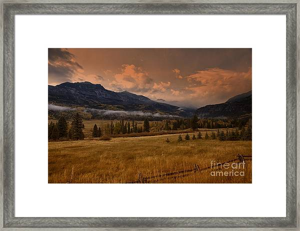 Wolf Creek Pass Framed Print