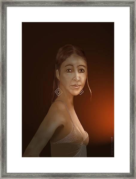 Woman 10 Framed Print