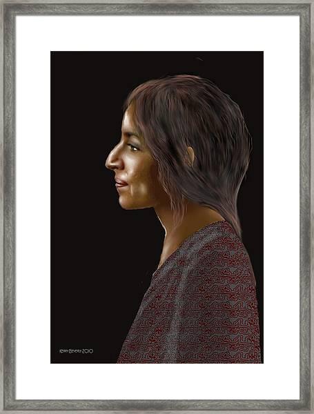 Woman 20 Framed Print