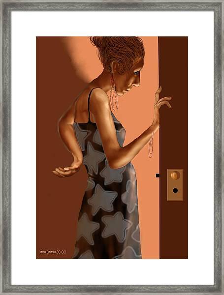 Woman 37 Framed Print