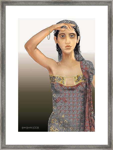 Woman 5 Framed Print