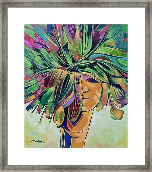 Woman Series Framed Print