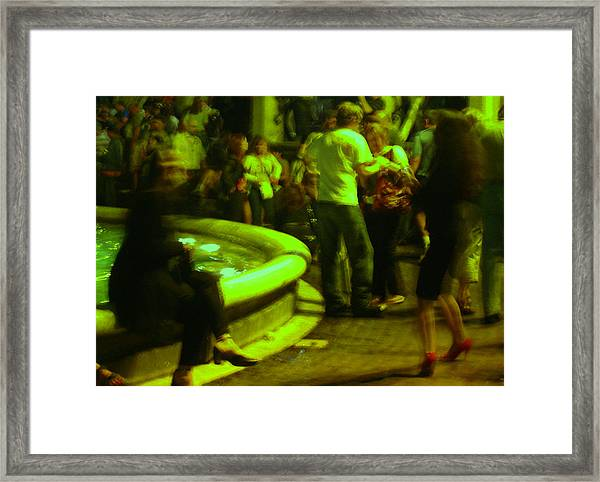 Woman In Stilettoes Framed Print by Edith Ritter