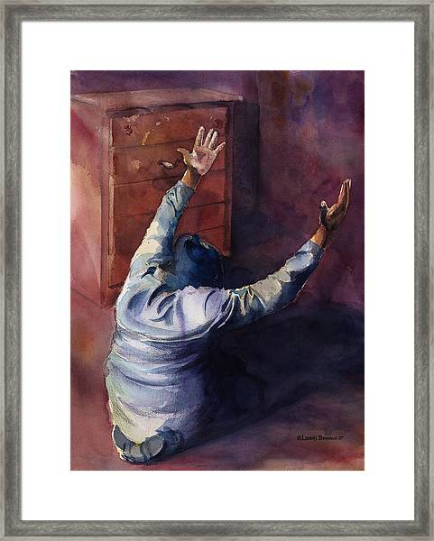 Woman Of Praise Framed Print