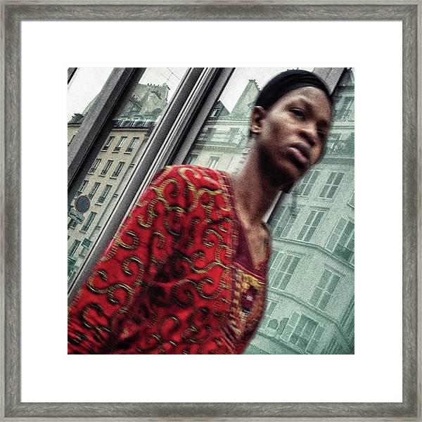 Woman  #woman #portrait #people Framed Print