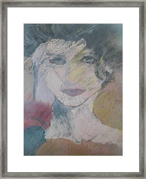 Woman's Portrait - Untitled Framed Print