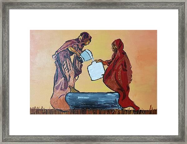 Woman's Worth - 3 Framed Print