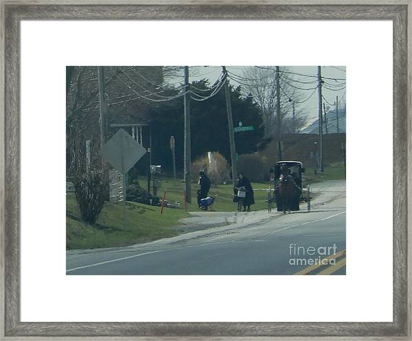 Women's Day Out Framed Print