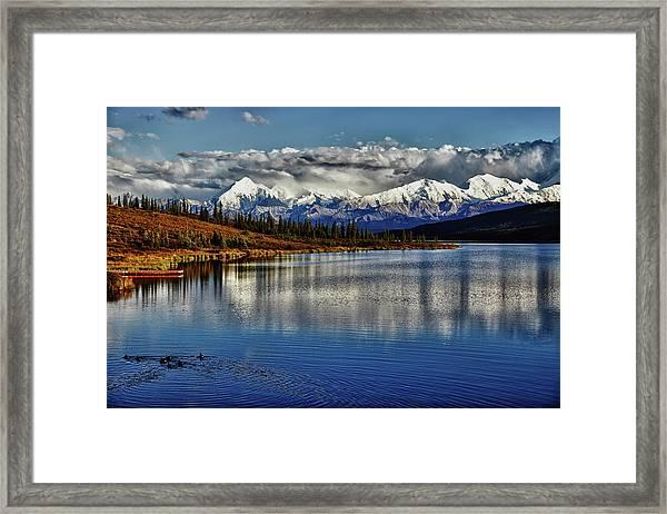 Wonder Lake IIi Framed Print