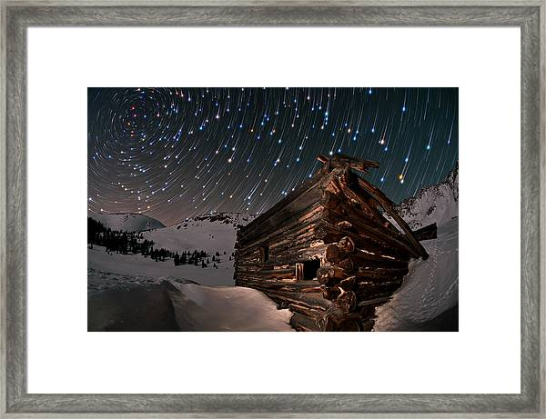 Wonders Of The Night Framed Print