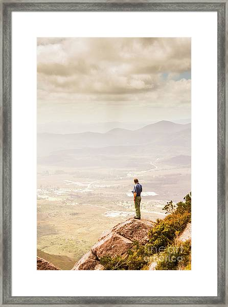 Wondrous Western Tasmania Framed Print