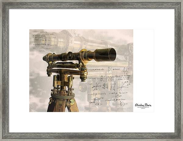 Wood And Brass Transit Framed Print