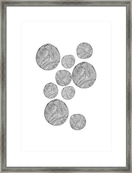 Wood Print Vertical Framed Print
