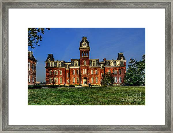 Woodburn Hall In Morning Framed Print