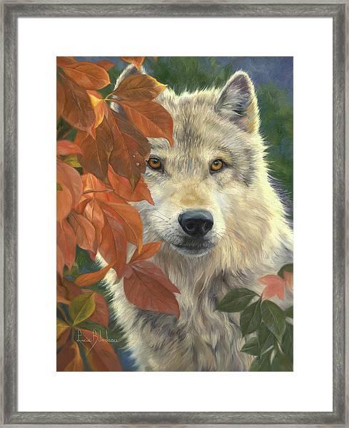 Woodland Prince Framed Print