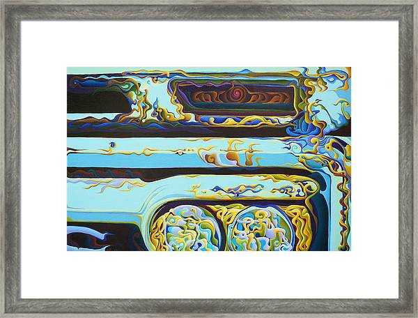 Woohooxidaisical Corrustination Framed Print