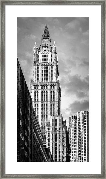Framed Print featuring the photograph Woolworth Building by Juergen Held